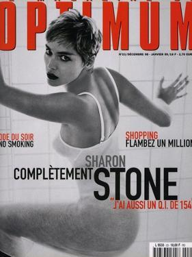 L'Optimum, December 1998-January 1999 - Sharon Stone by Herb Ritts Visages