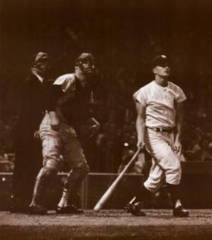 Roger Maris, 61st Home Run by Herb Scharfman
