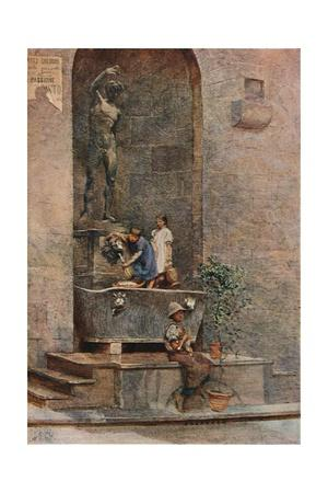 'The Fountain', c1904