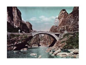 A Part Natural and Part Man-Made Bridge by Herbert C. and Deng White and Bao-Ling