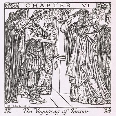 The Voyaging of Teucer