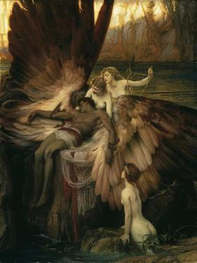 The Lament for Icarus by Herbert Draper