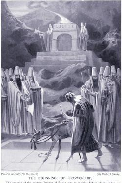 The Beginnings of Fire-Worship by Herbert Gandy