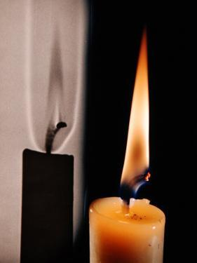 Candle Light by Herbert Gehr