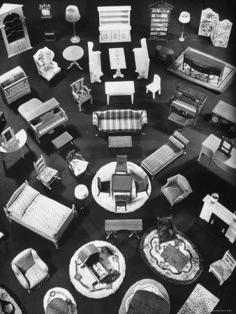 Doll House Furniture and Rugs Being Sold at F.A.O. Schwarz