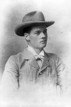 Herbert Hoover, age 23, taken in Perth in Australia, 1898