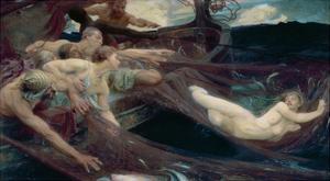 The Sea Maiden, 1894 by Herbert James Draper