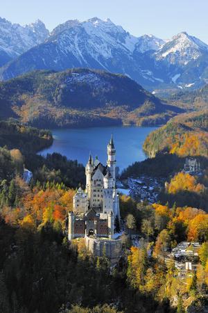 Germany, Bavaria, Allg?u, Neuschwanstein Castle