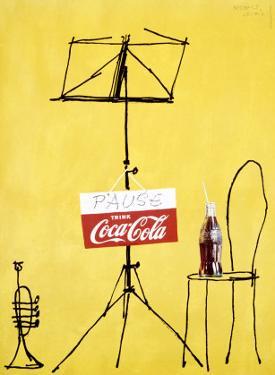 Coca-Cola Swiss Pop Art, c.1962 by Herbert Leupin