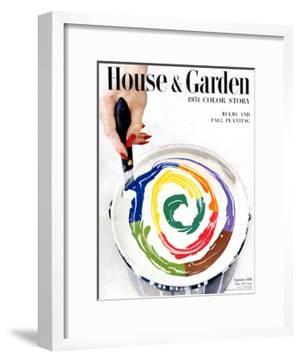 House & Garden Cover - September 1950 by Herbert Matter