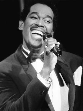 Luther Vandross - 1986 by Herbert Nipson