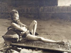 A Fakir of Holy Benares, India, 1907 by Herbert Ponting