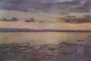 'An April After Glow', 1 April 1911, (1913) by Herbert Ponting