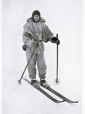Captain Scott, British polar explorer, in the Antarctic, 1911 by Herbert Ponting