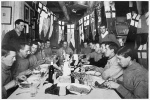 'Captain Scott's last Birthday Dinner', Antarctica, June 6th 1911 by Herbert Ponting