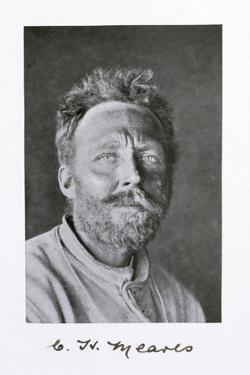 Cecil H Meares, a member of Captain Scott's Antarctic expedition, 1910-1913 by Herbert Ponting