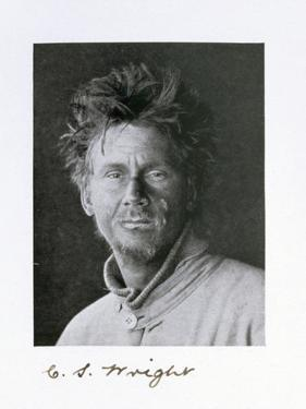 Charles S Wright, a member of Captain Scott's Antarctic expedition, 1910-1913 by Herbert Ponting
