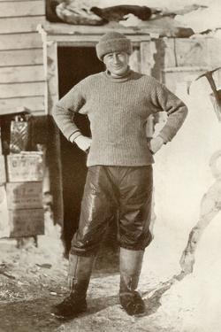 'Dr. Wilson', c1911, (1913) by Herbert Ponting