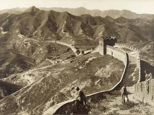 Great Wall of China, 1907 by Herbert Ponting