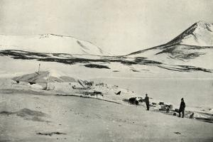 'Meares and Demetri at 'Discovery' Hut', 4 November 1911, (1913) by Herbert Ponting