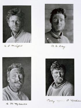 Members of Captain Scott's Antarctic expedition, 1910-1913 by Herbert Ponting