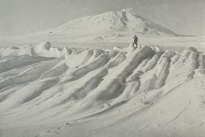 'Mount Erebus Over a Water-Worn Iceberg', October 1911, (1913) by Herbert Ponting