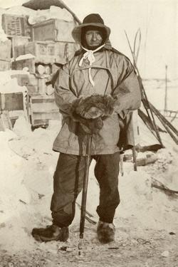 'Petty Officer Edgar Evans, R.N.', 1911, (1913) by Herbert Ponting