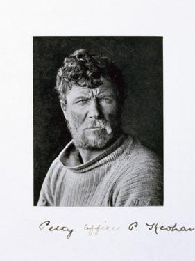 Petty Officer Patrick Keohane, a member of Captain Scott's Antarctic expedition, 1910-1913 by Herbert Ponting