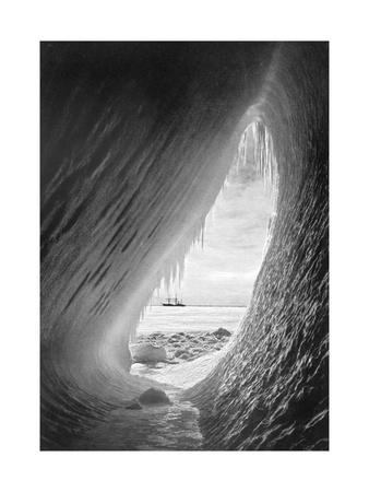 Terra Nova' in the Ice. from Scott's Last Expedition