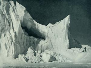 'The Castle Berg at the End of the Winter', c1911, (1913) by Herbert Ponting