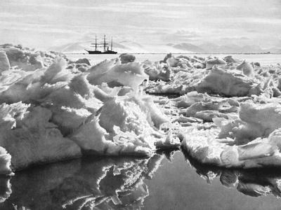 The Terra Nova in the Mc Murdo Sound, from Scotts Last Expedition