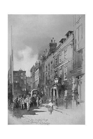 Gerrard Street, London, 1901