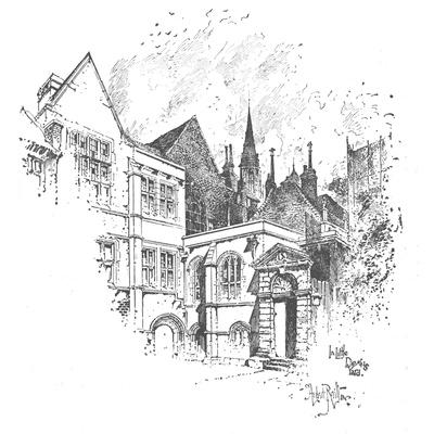 'In Little Dean's Yard', 1890
