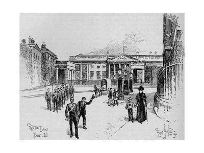 The Royal Mint, London, 19th century (1906)