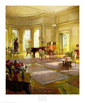 Maude Allan's Music Room by Herbert Richter