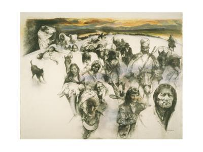 Cherokee Indians are Forced from their Homelands During the 1830'S by Herbert Tauss