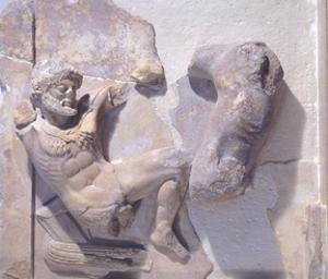 Hercules and the Deer