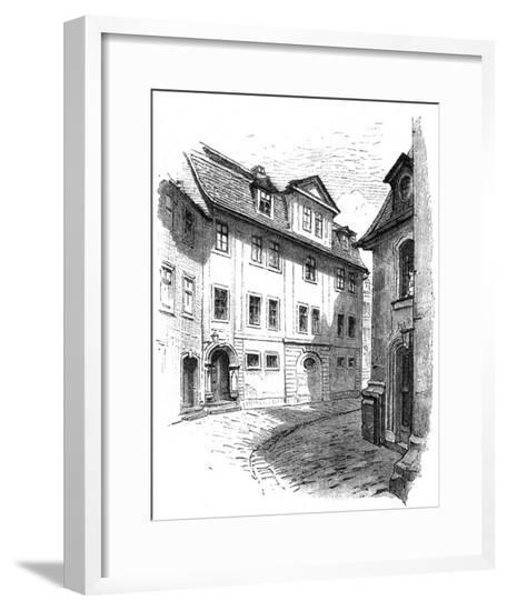 Herder's Home at Weimar--Framed Giclee Print