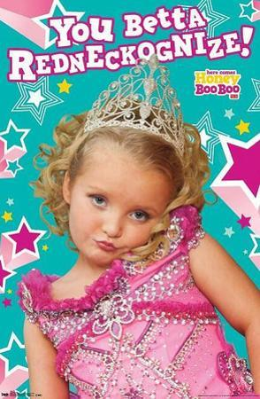 Here Comes Honey Boo Boo Alana TV Poster