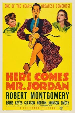 Here Comes Mr. Jordan, 1941, Directed by Alexander Hall