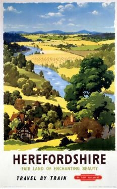 Herefordshire, BR, c.1960