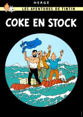 Coke en Stock, c.1958 by Hergé (Georges Rémi)