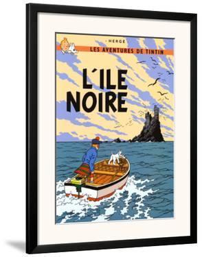 L'Ile Noire, c.1938 by Hergé (Georges Rémi)