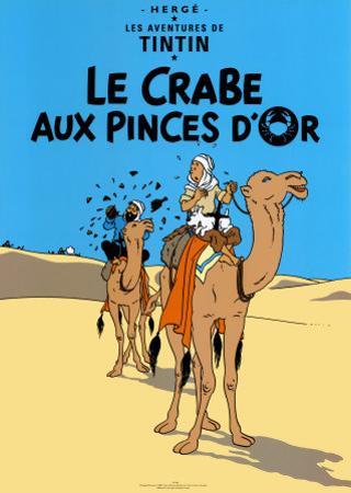Le Crabe aux Pinces D'Or, c.1941 by Hergé (Georges Rémi)
