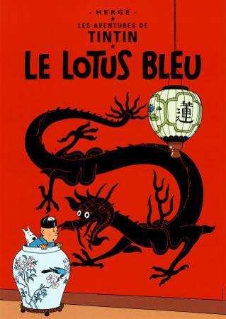 Le Lotus Bleu, c.1936 by Hergé (Georges Rémi)