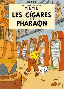 Les Cigares du Pharaon, c.1934 by Hergé (Georges Rémi)