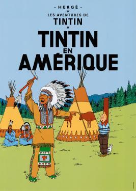 Tintin en Amerique, c.1932 by Hergé (Georges Rémi)