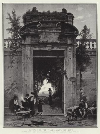 Gateway of the Villa Cavallieri, Rome