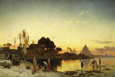 On the Nile, C.1875