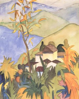 Village Above the Lake by Herman Hesse